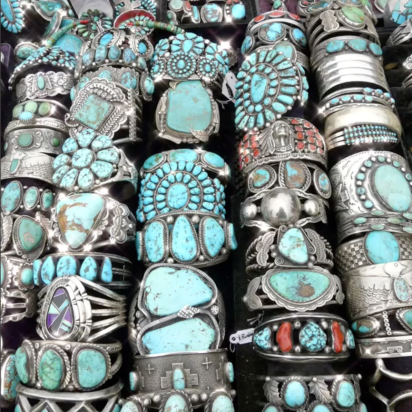 Turquoise is in full bloom!